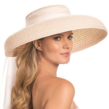 Eric Javits Women's Luxury Headwear Crawford Hat Cream