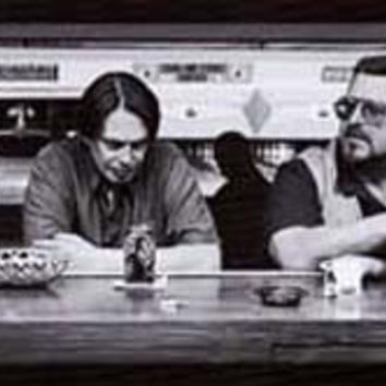 Big Lebowski Bowling Alley Movie Poster 12x36