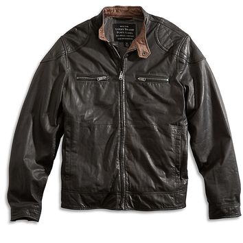 Lucky Brand Pavement Moto Jacket Mens
