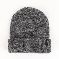 Brixton Heist Heather Gray Beanie - Mens Hats - Grey - One