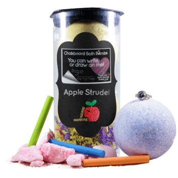 Apple Strudel | Jewelry Chalkboard Bath Bombs