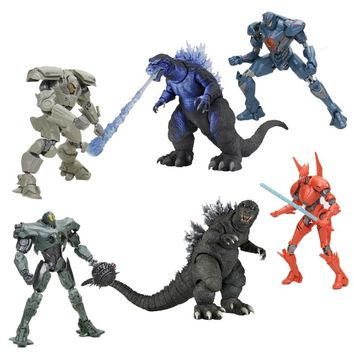NEW 15cm Pacific Rim SABER ATHERNA BRACER PHOENIX GIPSY AVENGER TITAN REDEEMER Godzilla PVC Action Figure Toy