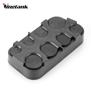 High Quality Car Interior Coin Case Black Coin Holder Storage Box Car Euro Coin Case Plastic Money Container Organizer Stowing