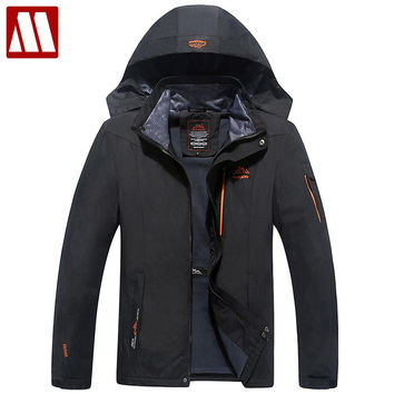 Thick jacket Winter Jacket Men Windproof Hood parka men hooded jackets and coats outwear Windbreak
