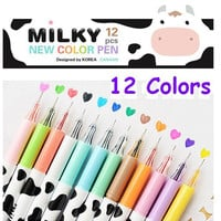 Milky Cow gel pens animal spot gel ink pen cow skin color ink pen funny color marker colorful gel pen gel ink pen happy farm highlighter pen