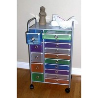 15 Drawer Rolling Storage