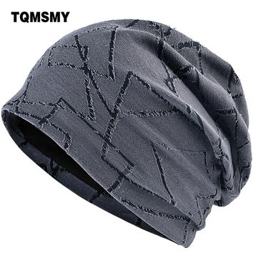 TQMSMY Unisex Square pattern Spring Summer Men Women Knitted Cap Casual Beanies Hats Hip hop Skullies Caps Bone gorras TMC96