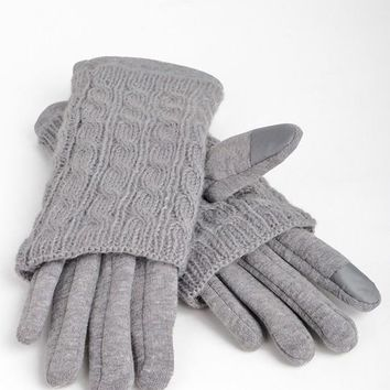 Trina 2-in-1 Gloves in Grey