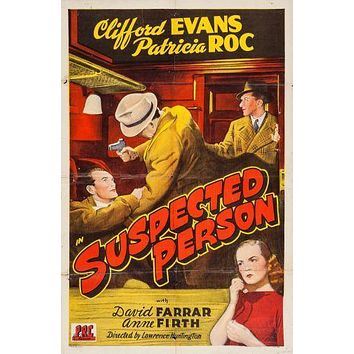 Suspected Person Movie poster Metal Sign Wall Art 8in x 12in