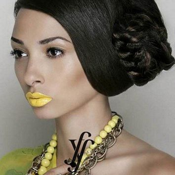 BOHO CHIC Braided Dome Synthetic Hairpiece by Forever Young, Color 1B Black