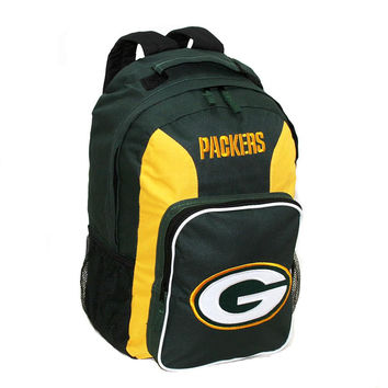 Southpaw Backpack NFL Black - Green Bay Packers