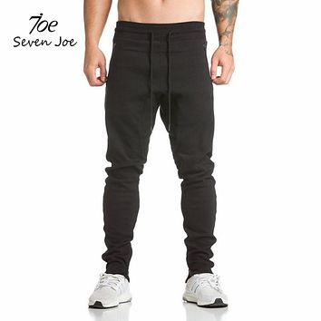 Seven Joe New sweatpants Men's solid workout bodybuilding clothing casual camouflage sweatpants joggers pants skinny trousers