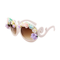 FLOWERS FRAME SUNGLASSES