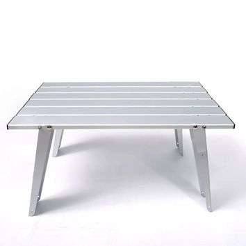 Folding Aluminum Alloy Outdoor Camping Table with Bag