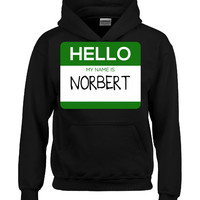 Hello My Name Is NORBERT v1-Hoodie