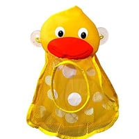 HOT SALE The Momma Duck Bath Toy Organizer Bag for Baby Toys & Toy Storage Ideal for 1 Year Olds, 2 Year Olds