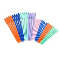 20Pcs Child Plastic Kid Weave Education Sewing Knitting Cross Stitch Knit Needle = 1958158276