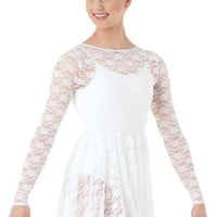 Long-Sleeve Lace Overdress | Balera™