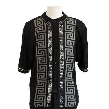 Lightweight Patterned Knit Edition S Shirt
