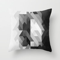 Number Four. Throw Pillow by Three Of The Possessed
