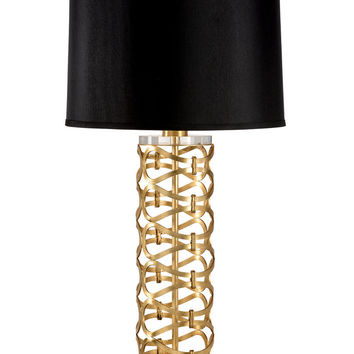 DAZZLING LAMP/GOLD