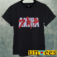 Akira Anime Japan Logo Men T Shirt