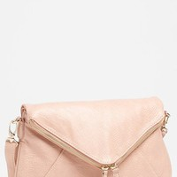 Street Level Double Zip Faux Leather Crossbody Bag | Nordstrom