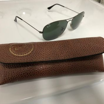 6d02fb1fe0c9f Ray-Ban - Men s sunglasses w  vintage Ray-Ban leather case