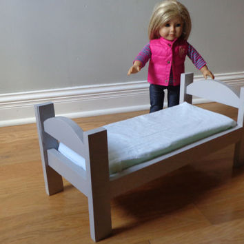 Doll Bed for American Girl Doll & 18-inch Dolls