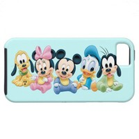 Baby Mickey Mouse and friends iPhone 5 Cases from Zazzle.com