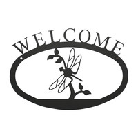 Dragonfly - Welcome Sign Small