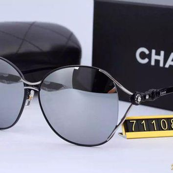 DCCKU62 Original Chanel Fashion New Design Sunglasses 71109 - 110