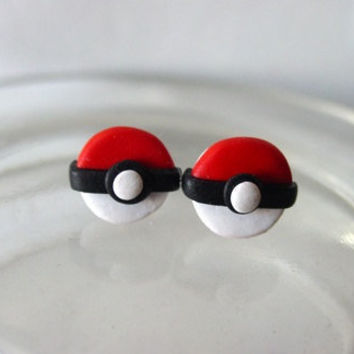 Pokeball Earring