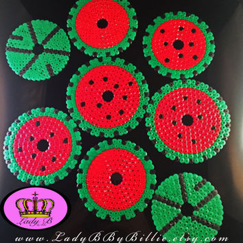 Watermelon Coasters/Drink Protectors Deluxe Set