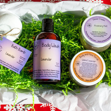 100% Pure Essential Oil Holiday Bath Sets