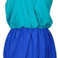 Rock that Color Block in Teal
