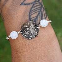 Moon and Planet Anklet Bracelet