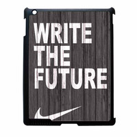 Nike Future On Wood Gray iPad 4 Case