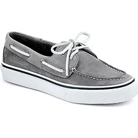 Men's Washable Bahama 2-Eye Boat Shoe in Grey by Sperry