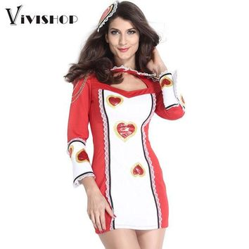 DCCKHY9 2016 Halloween Sexy Costumes for Women Cosplay Cheerleader Costume Game Uniform Sweetheart Cut Out Lace Fancy Disfraces Mujer