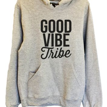 UNISEX HOODIE - Good Vibe Tribe - FUNNY MENS AND WOMENS HOODED SWEATSHIRTS - 2170