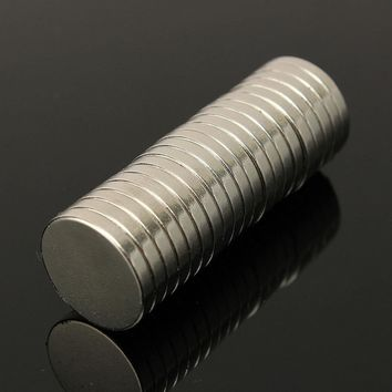 50Pcs 3mm 4mm 5mm 6mm 8mm Diameter Rare Earth Neodymium Super Strong Magnets N35 Strong Round Magnet HW158