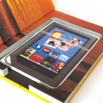 Kindle or Nook Hollow Book Case - America's Sunset Coast