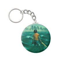 Percy Jackson Keychain from Zazzle.com