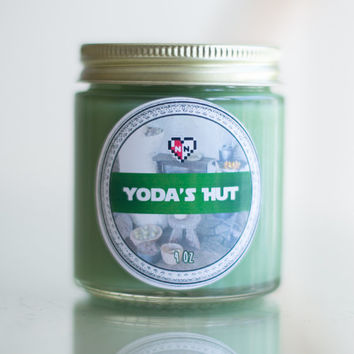 Yoda's Hut Soy Blend Candle (4 oz.)