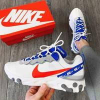 Free shipping-NIKE React Element 55 Tide brand sports running shoes