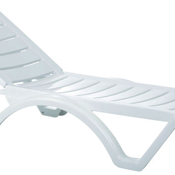 Shop white chaise lounge on wanelo for Aqua chaise lounge