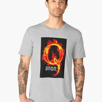 'QANON WWG1WGA GIFT ITEMS' Men's Premium T-Shirt by EmilysFolio