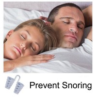 1pc Soft Anti Snore Stopper Prevent Snoring Clip Guard Stop Device Solution Vents To Ease Breathing Sleep Nose Care
