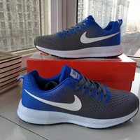 """Nike"" Unisex Sport Casual Multicolor Flyknit Running Shoes Fashion Couple Sneakers"